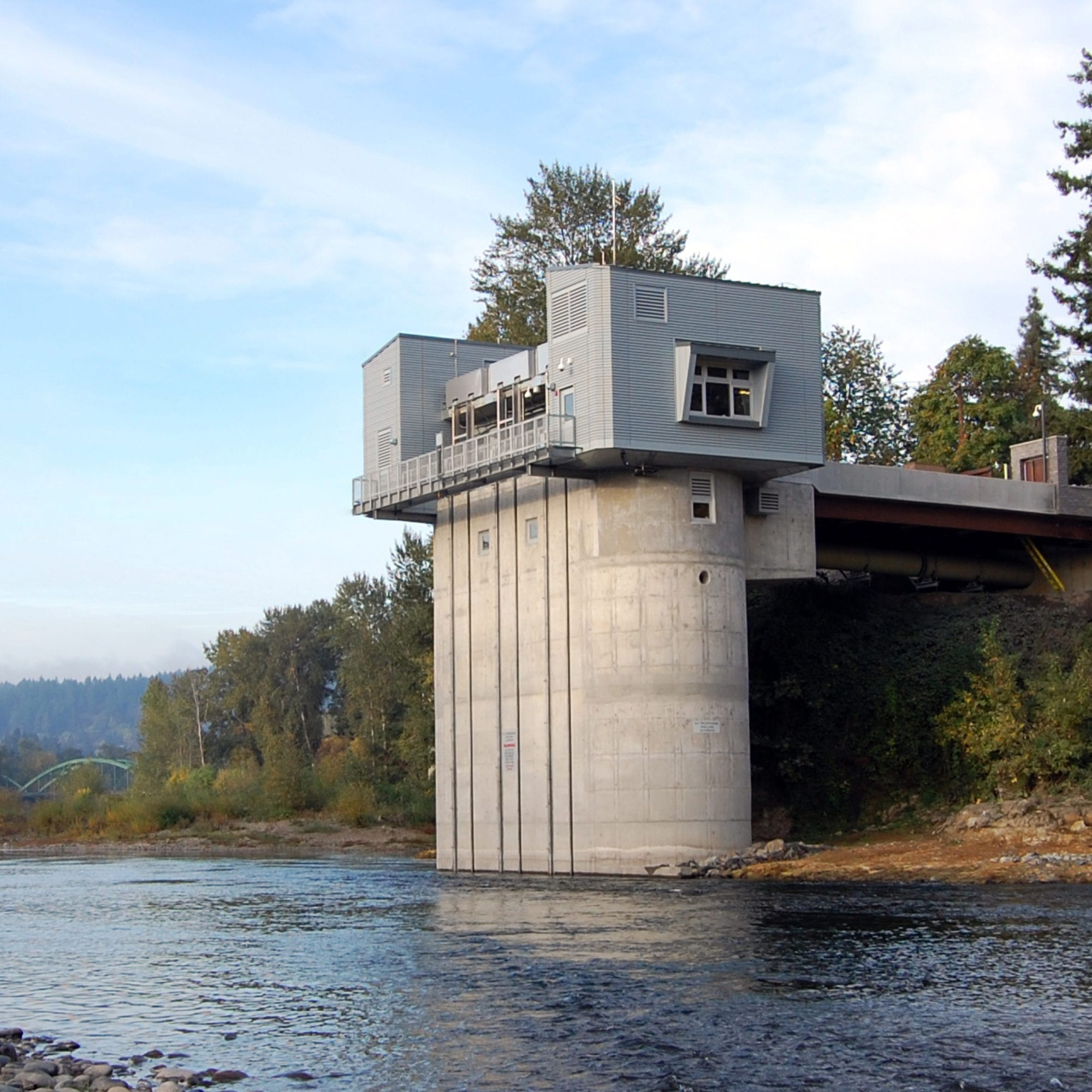 Raw Intake Pump Station, Lake Oswego-Tigard Water Partnership