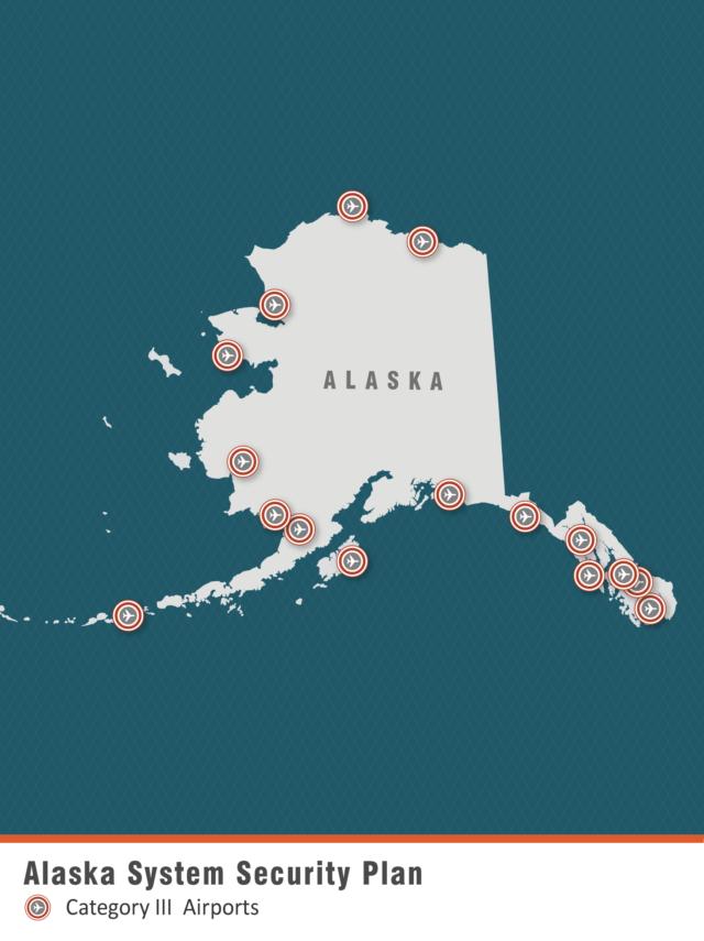 Alaska System Security Plan - Airport Map