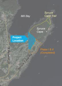 Natives of Kodiak - Spruce Cape Subdivision - Project Location
